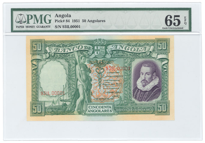 PMG - World Currency Africa Collection
