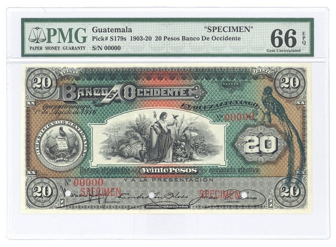 PMG - World Currency north_southAmerica Collection